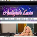 Aaliyahlove.com Free Video