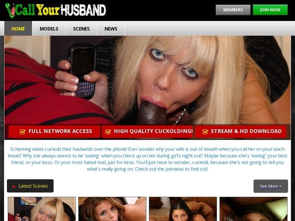 Callyourhusband.com Free Full