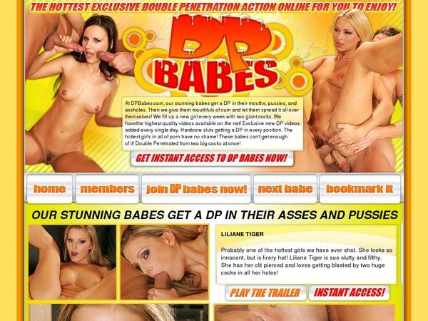 DP Babes Register Form