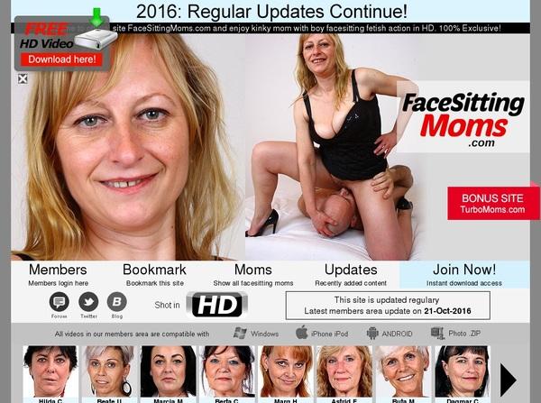 Facesittingmoms.com Password Share
