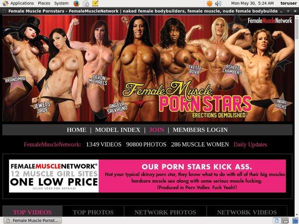 Female Muscle PornStars Mobile