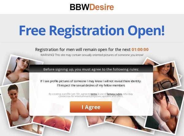 Free Bbwdesire.com Premium Account