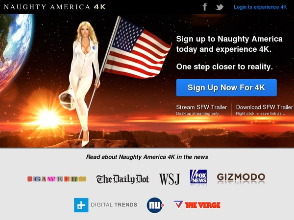 Free Naughtyamerica4k Account And Password