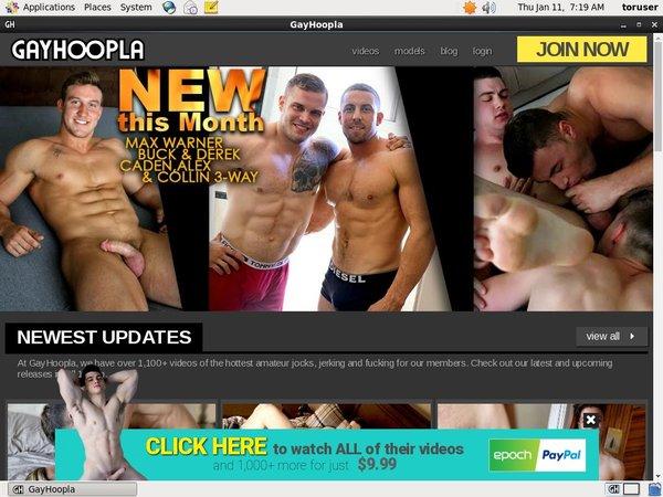Gayhoopla.com Hacked Account