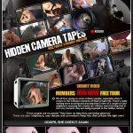 Hidden Camera Tapes Signup Form
