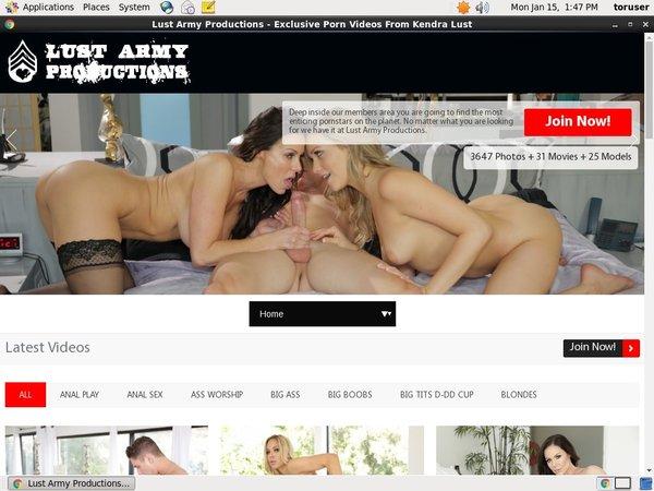 Lust Army Websites