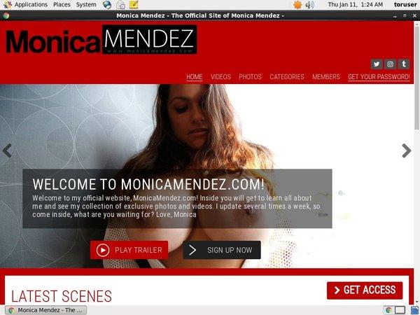 Monica Mendez Real Accounts