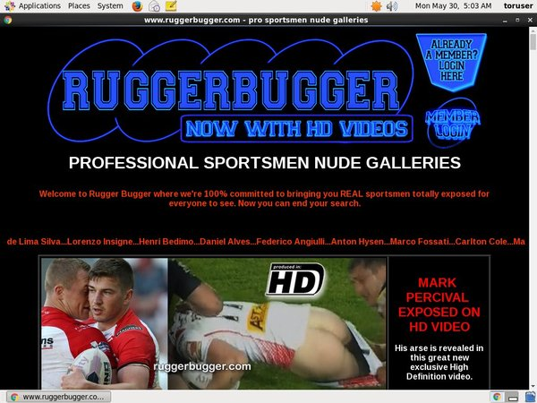 Ruggerbugger.com Get Account