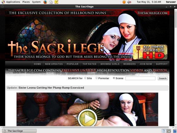 Thesacrilege.com Co