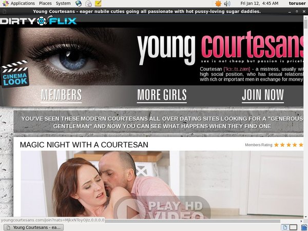 Young Courtesans Cost