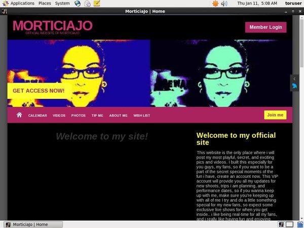Register Morticiajo.modelcentro.com