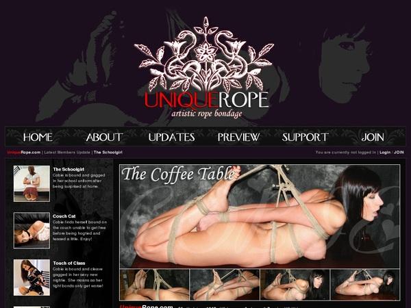Unique Rope Password Site