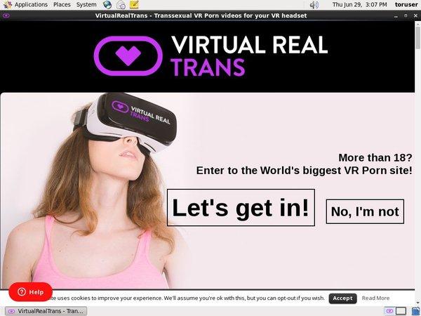 Virtualrealtrans.com Wachtwoord