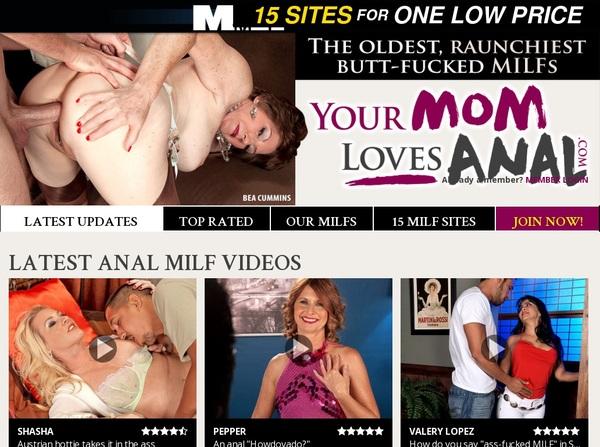 Yourmomlovesanal.com Order Form