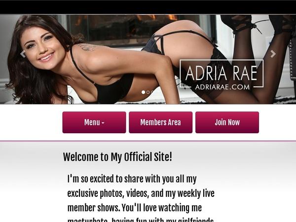 Adriarae.com Discount Pass