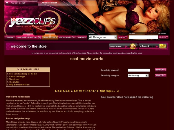 Scat-movie-world Hack Account