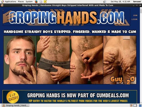 Groping Hands Coupon