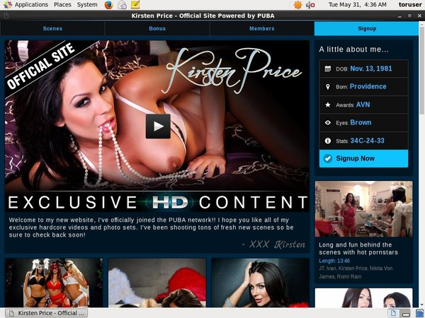 Kirstenpricevip.com 사용자 이름