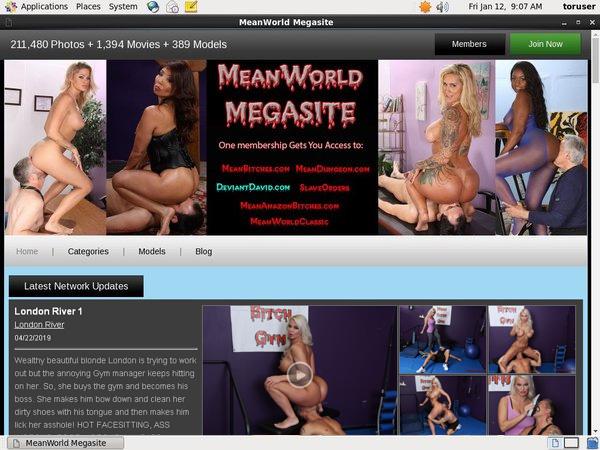 Meanworld Active Password