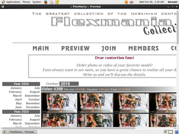 Collection.flex-mania.net Online