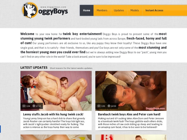 Doggyboys.com Log In