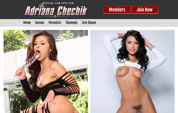 Adriana Chechik Without Joining
