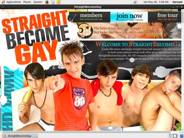 Straight Become Gay Passwort