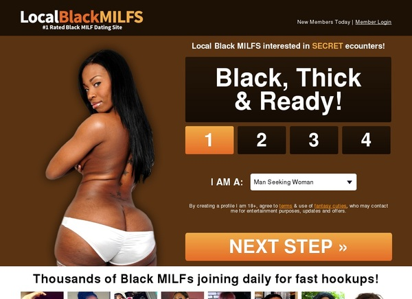 Local Black Milfs Payment Methods
