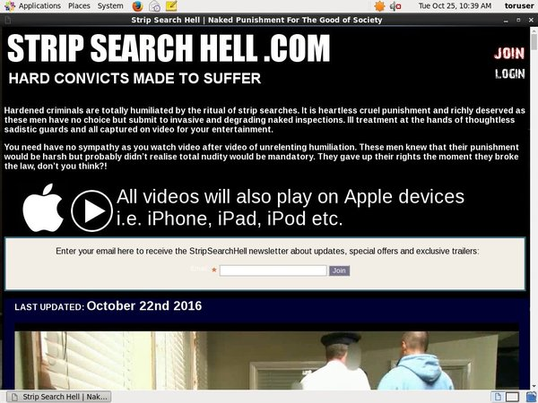 Strip Search Hell Acc Premium