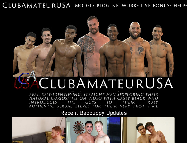 Get Into Club Amateur USA