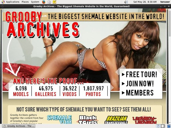 Thegroobyarchives Free Acount