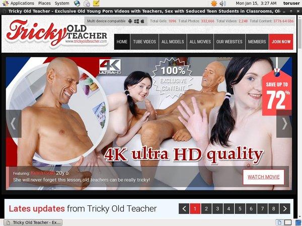 Tricky Old Teacher Model List
